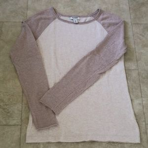 SOLD Old Navy Knit Baseball/ Raglan Sweater top
